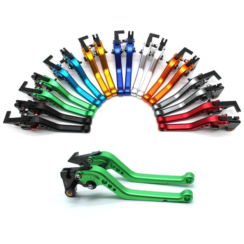 Palanca de freno y embrague para motocicleta CNC plegable juego de palancas de aluminio palanca de embrague de freno ajustable extensible para Kawasaki Z650 Z750 Z800 Z900 Z1000 Z1000SX ZX6R