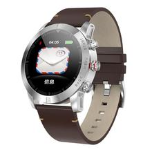 Smart Watch For Andriod IOS Full Touch Screen IP67 25 Days Standby 7 Sport Modes Full Metal Leather Sport Watch geen philip days stolen for sport