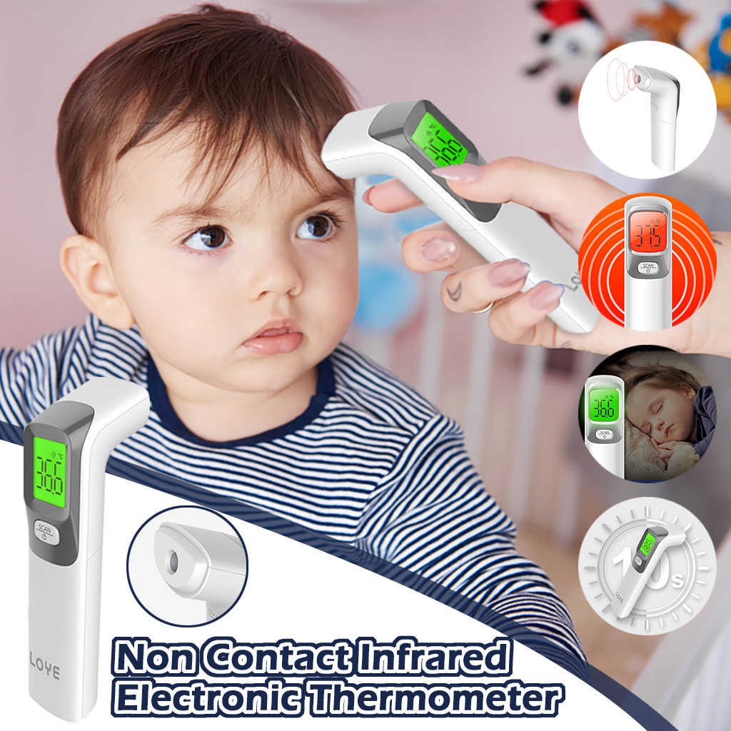 Baby/Adult Digital Termomete Infrared Forehead Body Thermometer Gun Non-contact Temperature Measurem Termometro Infravermelh
