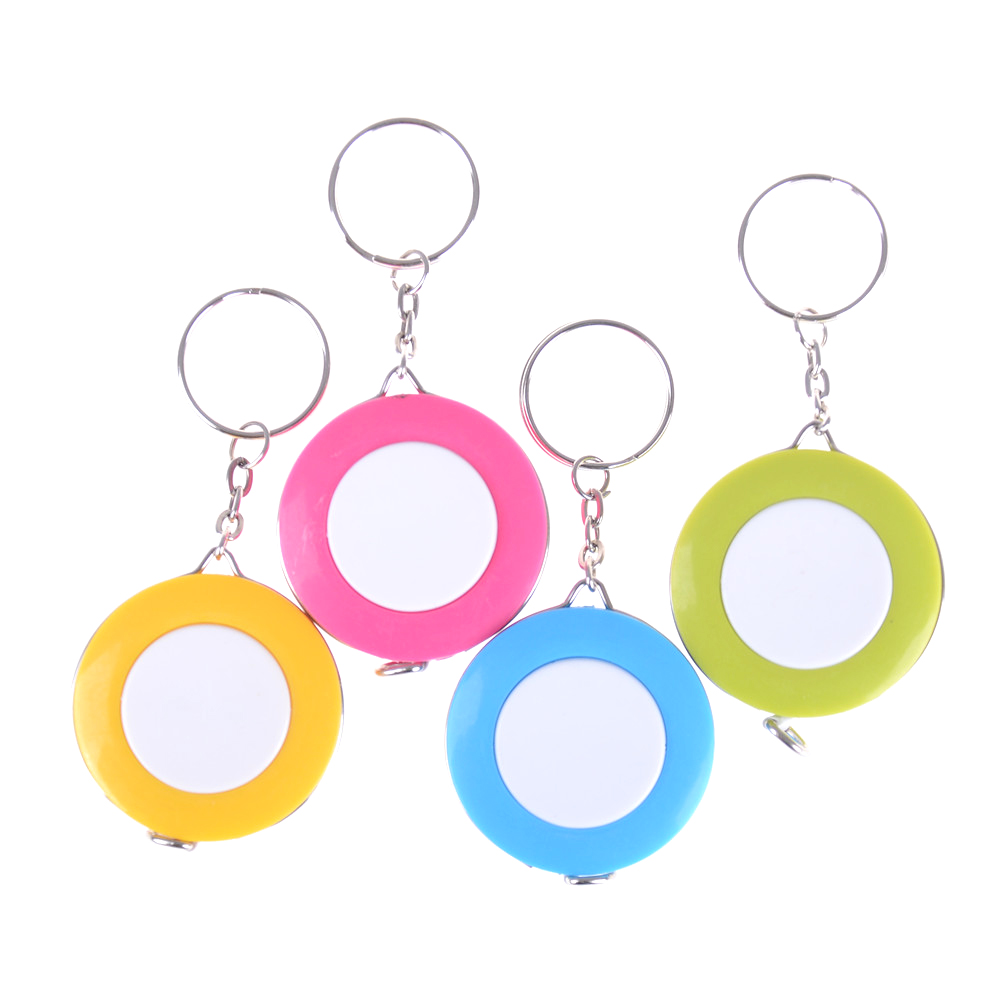 Tape-Measure Keychain Candy-Color Small Size Quantity-Clothing New