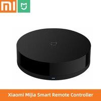 Original Xiaomi Mijia Universal Intelligent Smart Remote Controller WIFI+IR Switch 360degrees Mi smart Home  sensor Dropshipping|Home Automation Modules| |  -