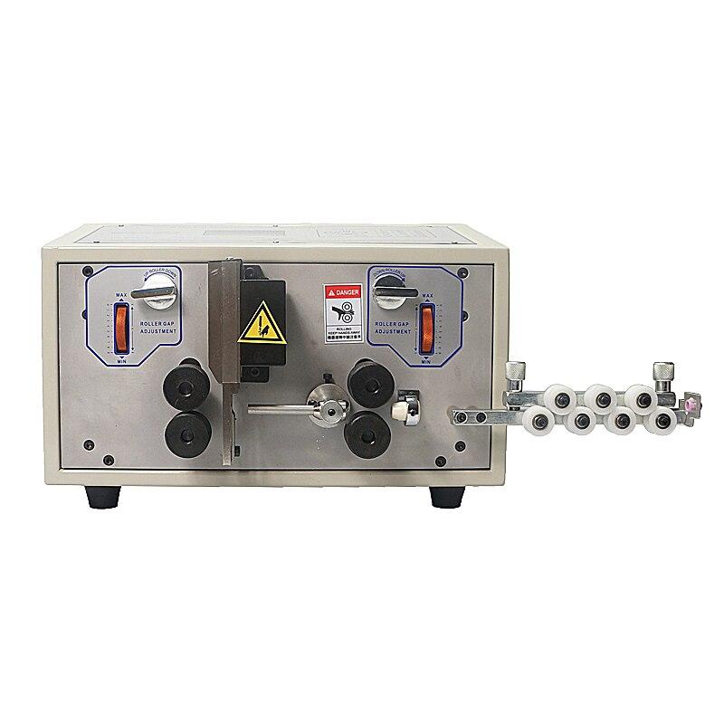 Machine à dénuder automatique de fil de coupe de bande de SWT-508E de machine à fil automatique