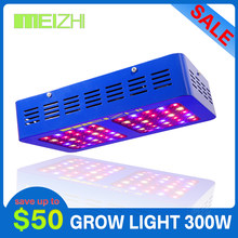 MEIZHI Reflector led grow light full spectrum 300w Epistar indoor garden hydroponics seeds plant growing light(China)