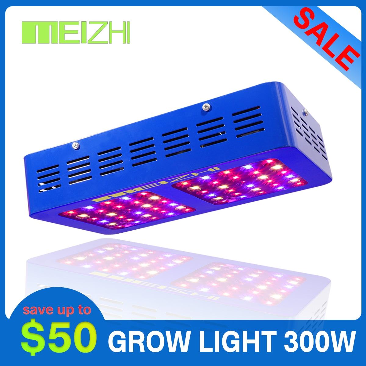 MEIZHI réflecteur led grandir lumière spectre complet 300w Epistar jardin intérieur hydroponique graines plante croissance lumière