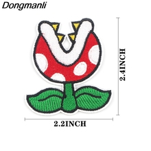 Flower Sticker for Clothing Applications Patches on Clothes Iron Embroidered Patch for Backpack Handbag Badge zotoone anatomical heart stripe badge embroidery patches for backpack stickers on clothes clothing iron on tactical patches diy