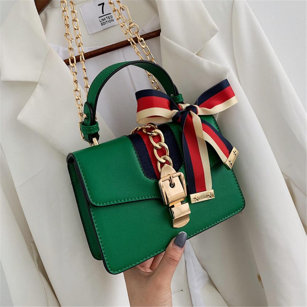 Small square bag women 2020 fashion handbag small flap chain shoulder bag trend women shoulder bag single shoulder bag handbag