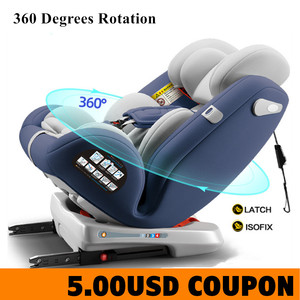 Baby Car Seat 360 Degrees Rota