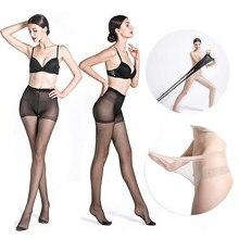 Пикантные женские колготки, прозрачные ультратонкие шелковые дышащие сексуальные эластичные нейлоновые колготки