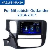 """داسايتا مشغل راديو 8 """"1 Din أندرويد 10.0 للسيارة ميتسوبيشي أوتلاندر 2015 2016 2017 ملاحة جي بي إس 12 فولت 4 جيجابايت رام HDMI MAX10"""