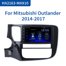 "Dasaita 8 ""1 דין אנדרואיד 10.0 רכב רדיו נגן למיצובישי הנכרי 2015 2016 2017 ניווט GPS 12V 4GB RAM HDMI MAX10"
