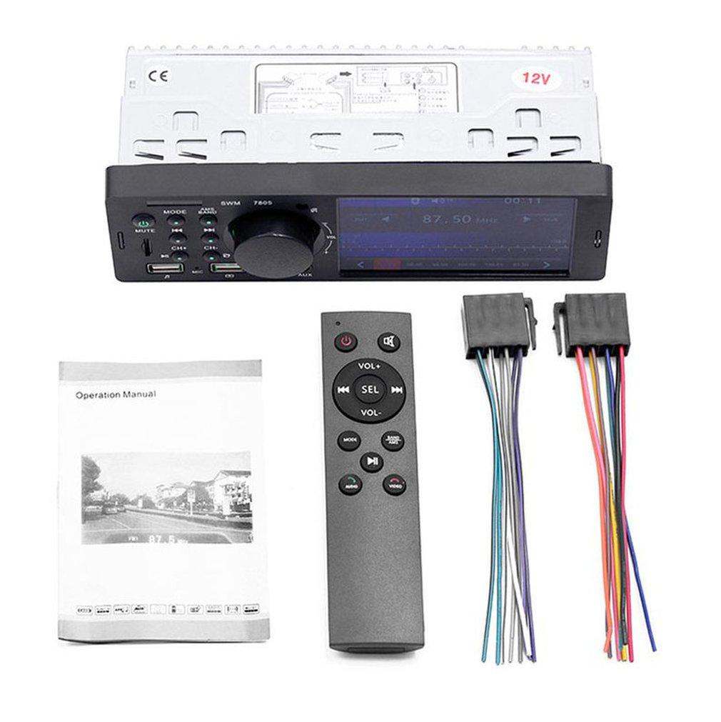 4.1 Inch Car Hd Big Screen Bt Car Mp5 Player Car Mp3 Mp4 Card Machine Car Radio Host Reversing Video Player