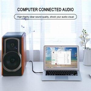 Image 5 - 3.5mm שקע אודיו כבל שקע 3.5 Mm זכר לזכר אודיו Aux כבל עבור סמסונג S10 רכב אוזניות רמקול חוט קו Aux כבל Jita