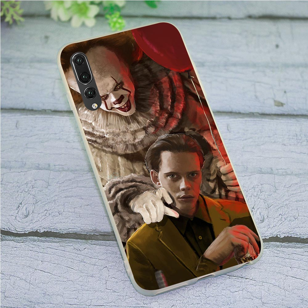 Cover for Huawei Honor Note 10 <font><b>Bill</b></font> <font><b>Skarsgard</b></font> Phone Case for Y6 2018 Y7 Y9 Nove 3 3i 6A 7A 7X Pro 8 8C 9 Lite 7C image
