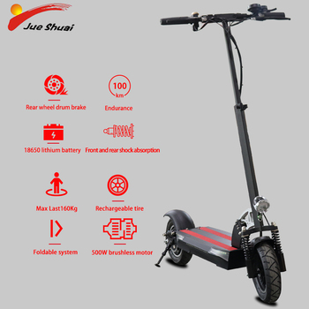JS-Patinete eléctrico de 10 pulgadas con asiento, Scooter plegable, para adulto, con Patinete eléctrico, aeropatín