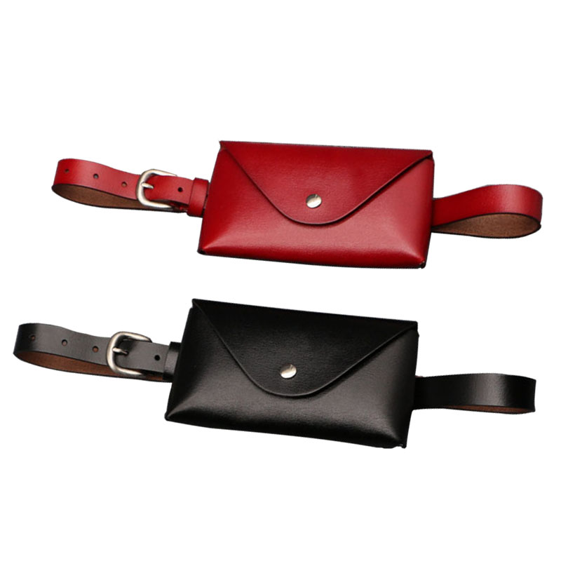 Waist Bag Women's Fashion Genuine Leather Waist Bags Women Belt Bags Waterproof Well Belt Woman Waist Luxury Bag For Phone