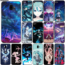 Hatsune Miku Anime Soft voor Samsung Galaxy J8 J6 J4 Plus Prime J4 A2 Core J7 Duo Siliconen(China)