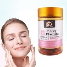 Gold Kiwi 20000mg Sheep Placenta Capsules Women Beauty Inner
