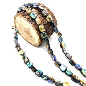 Бусины из натуральной ракушки россыпью неправильной формы, бусины из морской ракушки «сделай сам» для изготовления ювелирных изделий, ожерелий и браслетов, аксессуары размером 10 мм Бусины      АлиЭкспресс