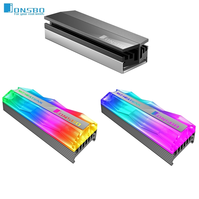 Jonsbo SSD Heatsink Cooler NVME NGFF M.2 2280 Solid State Hard Disk Radiator Heat Sink Passive Heat Dissipation Aluminum Cooling(China)