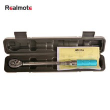 Realmote 1/2 20-210NM Universal Torque Wrench Drive Two-way Precision Ratchet Spanner Car Repair Hand Tools