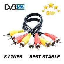 TV europa HD DVB-S2 líneas de España compatible con GTmedia V8 Nova V7S V9 Freesat V7 calzado