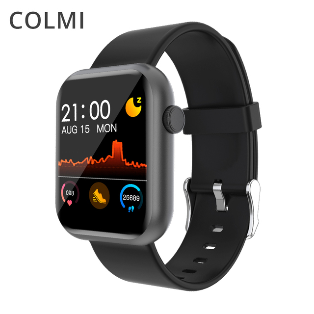 COLMI P9 Smart Watch Men Woman Full Smartwatch Built-in game IP67 waterproof Heart Rate Sleep Monitor For iOS Android phone 1
