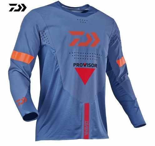 2017 Montanha RBX MX MTB DH downhill Bicicleta manga longa roupas de corrida Off-road Motocross Jersey maillot ciclismo