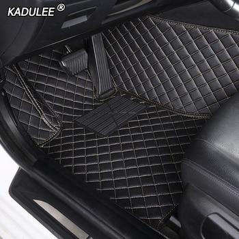 KADULEE Custom car floor mats for Mazda All Models mazda CX-4 3 5 6 8 CX-5 CX-7 cx3 MX-5 CX-9 atenza car styling car accessories