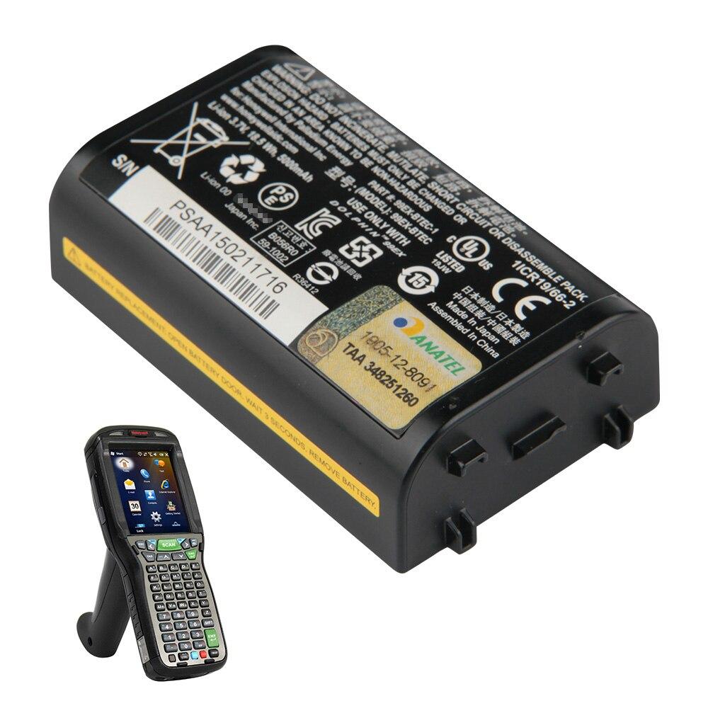 Batería de repuesto Original para Honeywell Dolphin 99EX 99GX 99EX-BTEC batería de ordenador portátil 5000mAh Digitalizador de pantalla táctil de repuesto para Honeywell Dolphin 60S