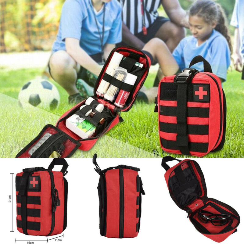 Outdoor First Aid Travel Medical Kit Bag Soft Bag Emergency Survival Pouch Outdoor Tactical Medical Box Oversized Box SOS Bags