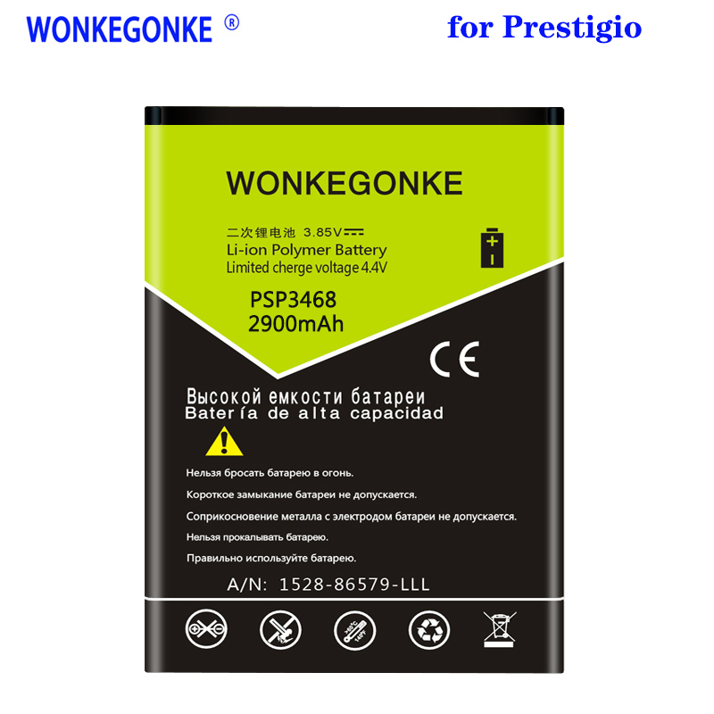WONKEGONKE PSP3468 For Prestigio wise OK3 PSP 3468 DUO battery High quality battery image