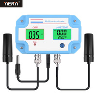 Yieryi PH 2989 Digital LED PH ORP Meter Tester with 3 in 1 PH/ORP/temperature High Accuracy Monitoring Equipment Tool For Spa