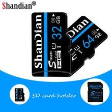 ShanDian – Mini carte mémoire TF classe 10, haute vitesse, 8 go, 16 go, 64 go, 32 go, 128 go, Micro SD