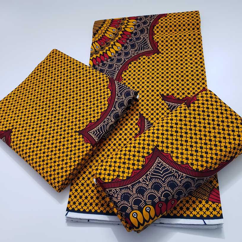100% хлопок новый оригинальный из парафинированной ткани Африканский Воск для печати ткань воск для ткани из парафинированной ткани 2021 оптов...