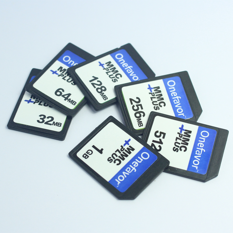 Onefavor 256 MB 512MB 1GB MMC MultiMedia Card 13PINS Memory Card For Old Camera