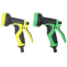 цена на Garden Hose Water Gun Water Jet Nozzle 9 Patterns Watering Gun Car Wash Spray Gun