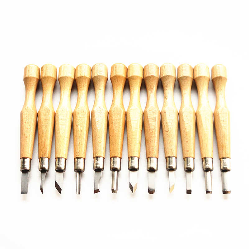 Professional Manual Wood Carving Hand Chisel Tool Set Carpenters Woodworking Carving Chisel DIY hand tool