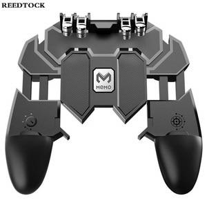 Image 3 - หกนิ้ว PUBG เกมคอนโทรลเลอร์ Gamepad โลหะ Trigger ยิงไฟฟรี Gamepad จอยสติ๊กสำหรับโทรศัพท์มือถือ