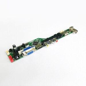 "Image 2 - Pasuje do LM185WH1 2 CCFL falownik LVDS 30 Pin PC pulpit 1366*768 18.5 ""VGA + HDMI + Audio + USB + pilot zdalnego LCD kontroler ekranu pokładzie DIY zestaw"