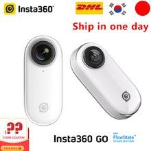 Insta360 Go Actionกล้อง1080PกีฬาFlowState Stabilized Camara AIอัตโนมัติแก้ไขวิดีโอYouTubeทำสำหรับiPhoneและAndroid