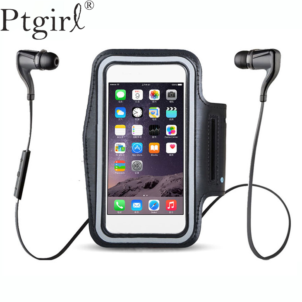 BLACK Waterproof Gym Sports Running Armband For Iphone Xs Max XR X 8 4 4s 5 5s 5c SE 6 6s 7 7s Plus Arm Band Phone Bag Case