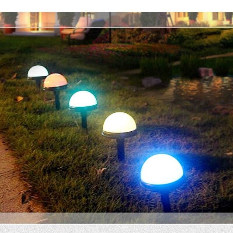 as luzes solares lampada do gramado luzes 02