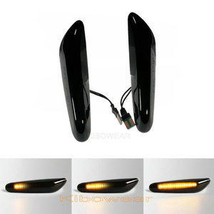 Image 1 - Dynamic LED Fender Light Side Marker For BMW E60 E61 E90 E91 E87 E81 E84 E88 E92 E93 E82 E46 1 3 5 series x1 2004 2010 flasher