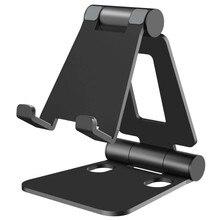 SeenDa stojak na telefon ze stopu Aluminium dla Huawei iPhone Xiaomi uniwersalny składany i obrotowy uchwyt na telefon Tablet stojak na ipada