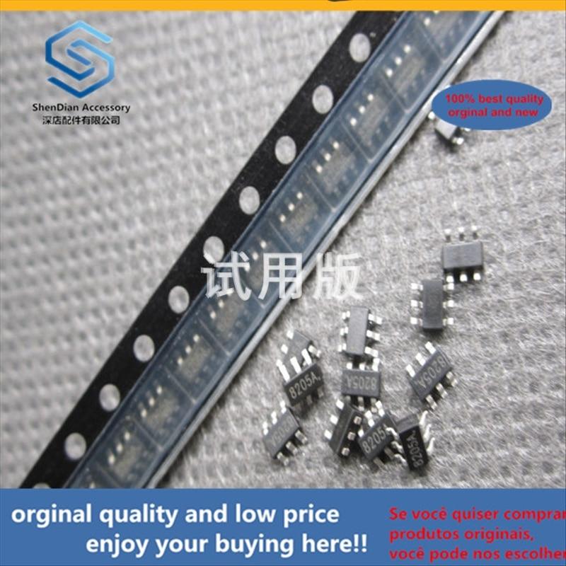 50pcs 100% Orginal New Best Quality FS8205A SOT23-6 Lithium Battery Protection SOT-163 MOS Tube Silk Screen 8205A
