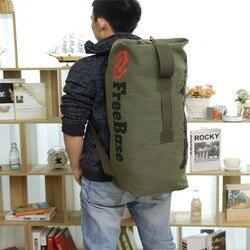 Siła torba na bagaż torba sportowa plecak płócienna torba worek na zewnątrz wspinaczka górska plecak wolna podstawa w Torby wspinaczkowe od Sport i rozrywka na