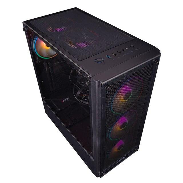 IPASON Gaming Desktop Intel I7 6400T es QHQG ES Engineering version  2.2GHz 16G RAM 256G SSD High Performance Diy Gaming Desktop 4