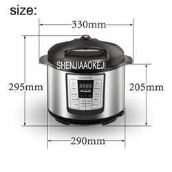 110V 5L Electric pressure cooker Double bile intelligent household electric cooking machine Electric rice cooker