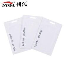 10 шт. 1,8 мм EM4100 Tk4100 125 кГц карта контроля доступа брелок RFID бирки брелок для ключей маркерное кольцо Бесконтактный чип