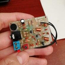 FM Stereo moduł radiowy z mikrofonem zestaw do samodzielnego montażu regulowana 88-108MHz bezprzewodowy nadajnik DC 3-6V do lutowania praktycznym uczeniu się